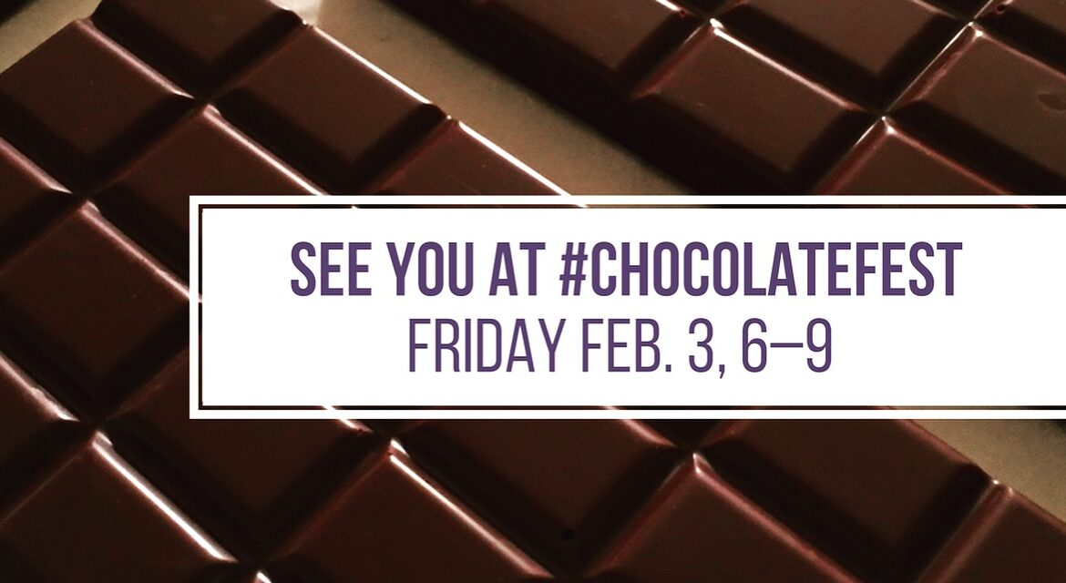 See You at Ballston Spa Chocolate Fest!